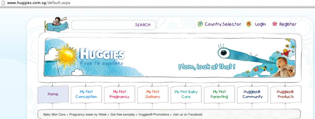 Huggies Sample