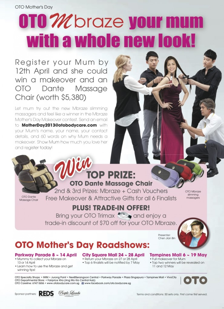 OTO Mother's Day Contest