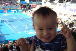 World Tennis Challenge and Australian Open 2014
