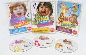 Sing to Learn EL DVDs