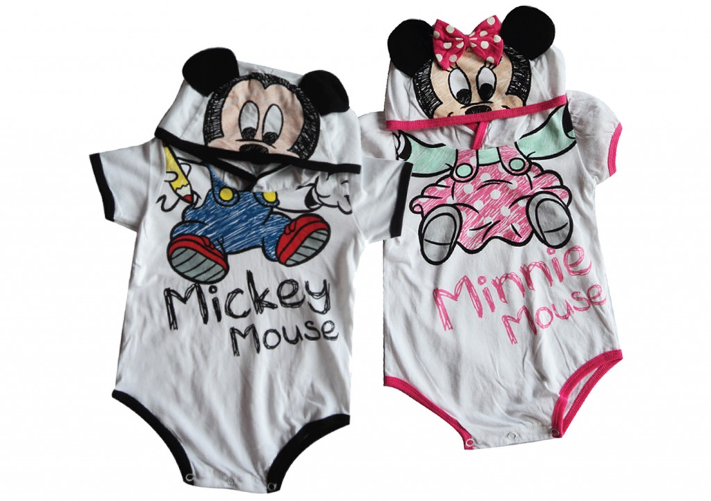 DisneyBaby Romper from Elise Distribution (Each retails at  SGD39.90)