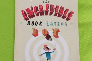Friday Flips #14: The Incredible Book Eating Boy (Plus a Giveaway!)