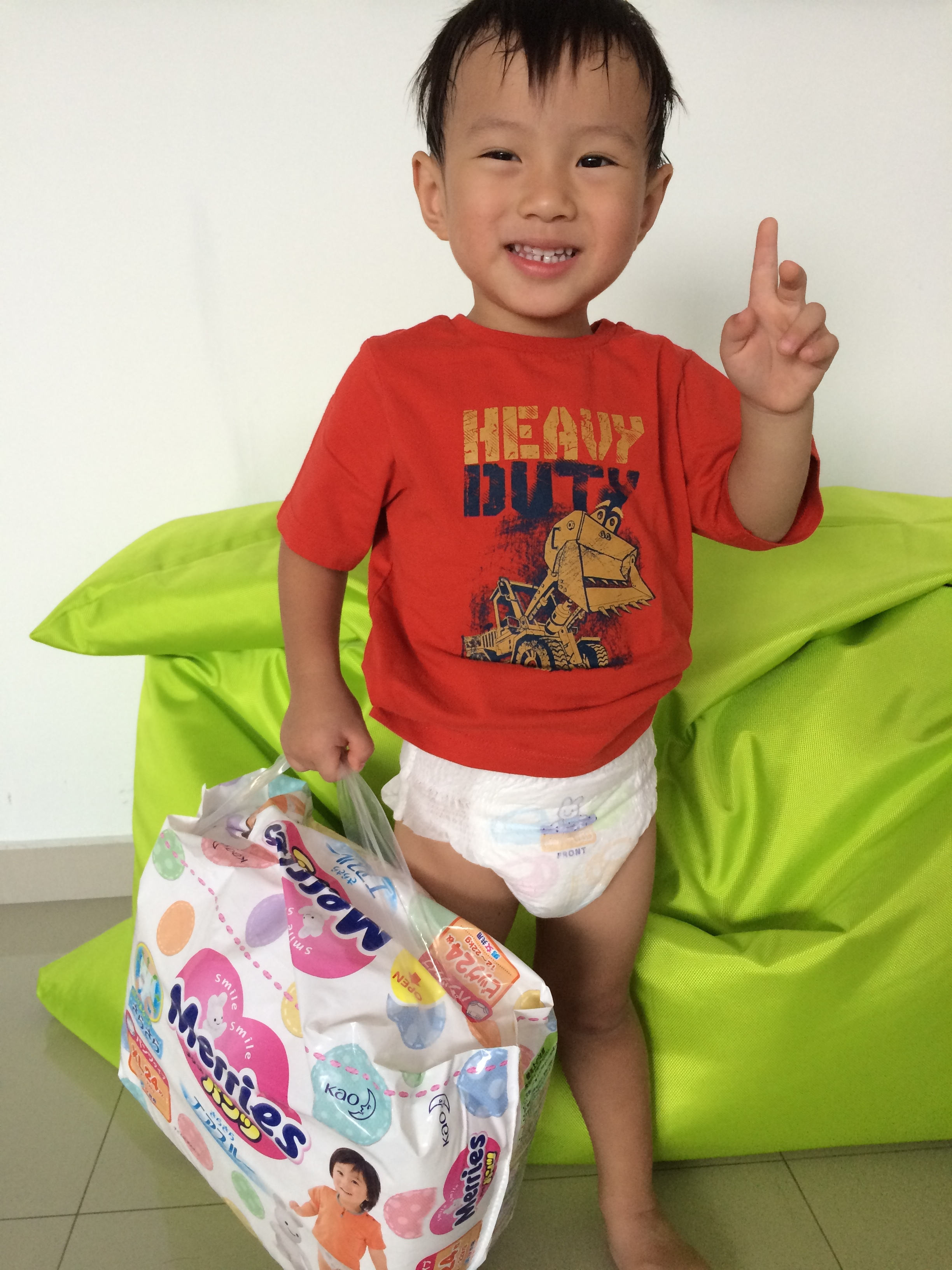 Stay Dry Merry And Active With Merries Walker Pants Baby Diapers New Born 24 S Img 3113