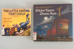 Friday Flips #50: Books about Trains
