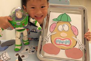 Homeschooling Fun: DIY Mr Potato Head & Tangrams