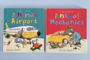 Friday Flips #53: A Day at the Animal Airport & A Day with the Animal Mechanics