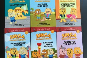 Friday Flips #63: Singa and the Kindness Cubbies Series