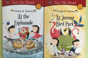 Friday Flips #76: Timmy & Tammy at the Esplanade and Timmy & Tammy at Jurong Bird Park (Plus Giveaway!)