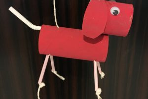 CNY Year of the Dog Craft: Dog Puppet